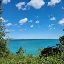 Lake Michigan from Lake Forest IL
