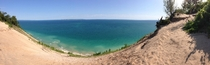 Lake Michigan Pyramid Point Michigan x
