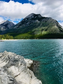 Lake Minnewanka Banff National Park A great chill afternoon with a view