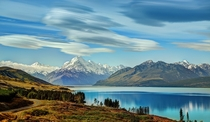 Lake New Zealand Mountains Wallpaper -