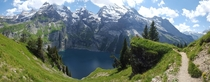 Lake Oeschinen Switzerland by rudster_