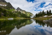 Lake of the Angels in Olympic National Park