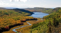 Lake of the Clouds Ontonagon Michigan