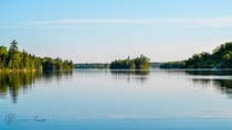 Lake of the Woods Canada Contains more than  islands and  miles of shoreline Crazy