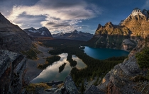 Lake Ohara Yoho National Park British Columbia  by William McIntosh