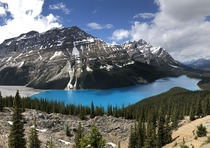 Lake Peyto in Banff National Park Hard to believe a place as beautiful as this exists
