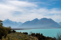 Lake Pukaki New Zealand OC
