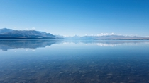 Lake Pukaki New Zealand with Mount Cook in the background