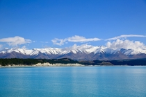 Lake Pukaki New Zealands South Island