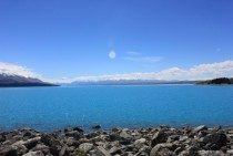 Lake Pukuaki New Zealands South Island