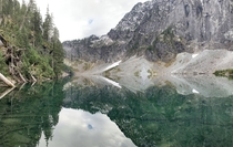 Lake Serene Snohomish County Washington living up to its name