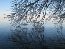 Lake Simcoe Ontario After the ice storm of  Posted this in EarthPorn awhile back thought youd enjoy it here x