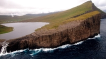 Lake Srvgsvatn Faroe Islands