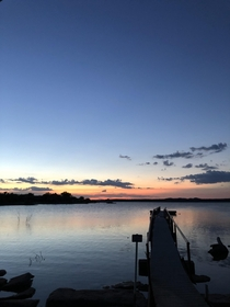 Lake sunsets are so beautiful