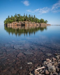 Lake Superior Reflections  x