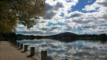 Lake Tuggeranong never looked so good  Canberra Australia