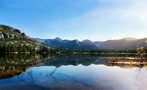 Lake Vernon in the Morning TilTill Valley in Yosemite National Park