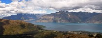 Lake Wakatipu Cecil Peak and The Remarkables New Zealand