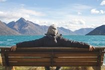 Lake Wakatipu Ride Queenstown New Zealand by Sonja Bond