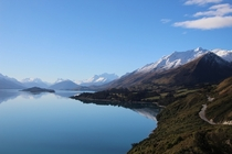 Lake Wakatipu South Island of New Zealand Mirror finish  OC first post