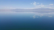 Lake Walker Nevada Love the way this lake mirrors the sky so perfectly