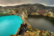 Lakes of Mount Kelimutu Indonesia Very interesting information in comments