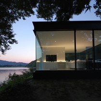 LAKESIDE HOUSE Designed by Shinichi Ogawa amp Associates located in Yamanashi Japan