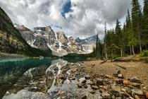 Lakeside in Banff National Park - Alberta Canada