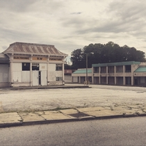 Land of the Lost A retail wasteland in west Atlanta open signs still displayed