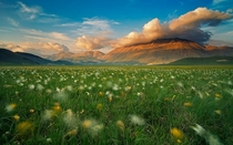 Land of whispering wind - beautiful Sibillini National Park in Italy  photo by Luca Giustozzi