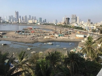 Land reclaimation for Mumbai coastal road project going  even during nationwide lockdown in MumbaiIndia