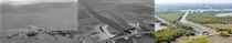 Land reclamation progression over a periode of  years De Blocq van Kuffeler Almere Netherlands