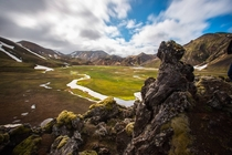 Landmannalaugar Icelands Colourful Mountains