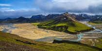 Landmannalaugar in the Highlands of Iceland  Photographed by Alexander Garin