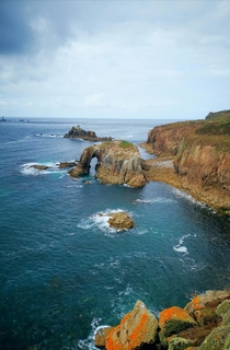 Lands End Cornwall Great Britain