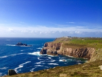 Lands End Cornwall UK