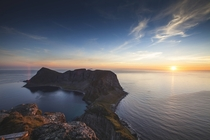 Landscape from Lofoten in the north of Norway  by Marius Kaniewski