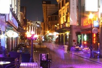 Laowaiton or literally Foreign Town is the center of night life for expats in Ningbo China