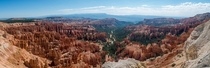 Large panorama I took of Bryce Canyon Utah