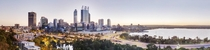 Large panorama of Perth Western Australia