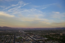Las Vegas as seen from the Stratosphere Tower