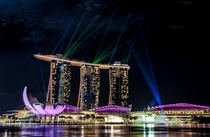 Laser Lights of Marina Bay Sands