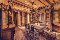 Last Dinner Abandoned Mansion in Dresden Germany Photo by Dapicture