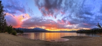 Last evenings sunrise over Whiskeytown Lake in Northern California was pretty great