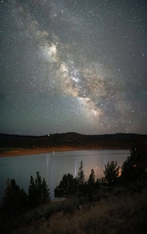Last night in the high desert Prineville Reservoir State Park Oregon