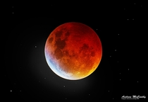 Last Nights Blood Moon