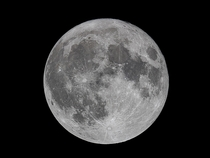 Last nights Blue Moon at mm focal length