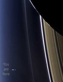 Last pic of Earth taken by NASAs Cassini spacecraft before it went on a death dive into Saturn