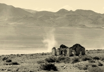 Last standing structure in a ghost town in Southern Utah