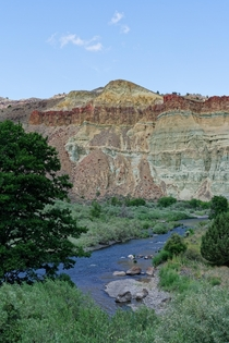 Last week  Cathedral Rock in John Day Fossil Beds NM in Oregon